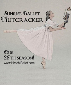 25th Annual Nutcracker Performed by Sunrise Ballet 2pm Showing Anaheim, CA - Saturday, December 14th 2013 at 2:00 PM 41 tickets donated