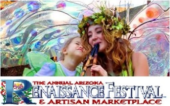 Arizona Renaissance Festival - Tickets Are Good Starting February 2014 Gold Canyon, AZ - Friday, December 20th 2013 at 10:00 AM 20 tickets donated