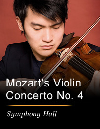 Mozart's Violin Concerto No. 4 Performed by Ray Chen - Friday Phoenix, AZ - Friday, April 18th 2014 at 7:30 PM 200 tickets donated