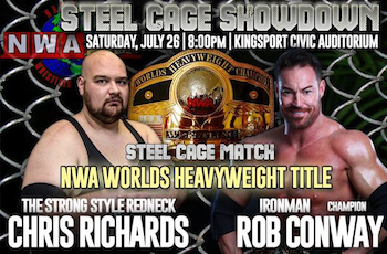 Nwa Smoky Mountain Steel Cage Showdown - Wrestling - Saturday Kingsport, TN - Saturday, July 26th 2014 at 8:00 PM 100 tickets donated