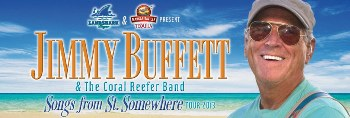 Jimmy Buffett & the Coral Reefer Band - With John Fogerty Detroit, MI - Saturday, July 26th 2014 at 7:00 PM 4 tickets donated