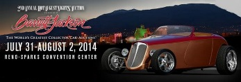 Hot August Nights Auction Presented by Barrett - Jackson - 1 Ticket Is Good for 2 People Reno, NV - Friday, August 1st 2014 at 12:00 PM 400 tickets donated