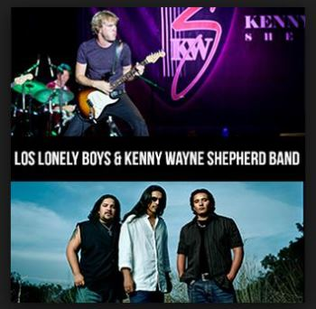 Los Lonely Boys Will Co - Headline With Kenny Wayne Shepherd Band Los Angeles, CA - Saturday, August 2nd 2014 at 7:00 PM 200 tickets donated