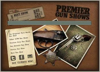 Houston - Pasadena Gun Show - Presented by Premier Gun Shows - Saturday or Sunday Pasadena, TX - Saturday, November 1st 2014 - Sunday, November 2nd 2014 50 tickets donated