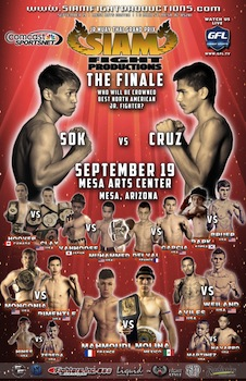 Siam Fight Productions Jr. Muay Thai Grand Prix Finale Mesa , AZ - Friday, September 19th 2014 at 5:00 PM 50 tickets donated