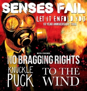Senses Fail Carrboro, NC - Tuesday, September 23rd 2014 at 7:30 PM 2 tickets donated
