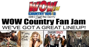 Wow Country Fan Jam - Big & Rich Nampa, ID - Friday, September 5th 2014 at 6:00 PM 30 tickets donated