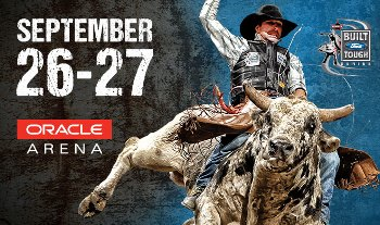 PBR: Built Ford Tough Series - Good for Friday the 26th Only Oakland, CA - Friday, September 26th 2014 at 8:00 PM 500 tickets donated