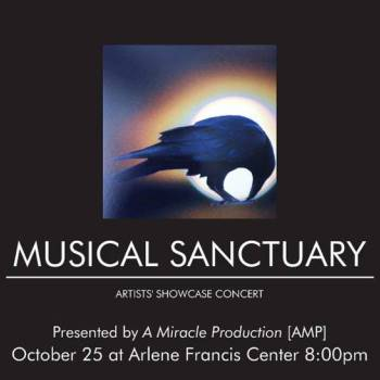 Musical Sanctuary Artists'showcase Concert Santa Rosa, CA - Saturday, October 25th 2014 at 8:00 PM 10 tickets donated