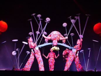 Cirque Peking - National Acrobats of the People  Urbana, IL - Wednesday, October 22nd 2014 at 7:00 PM 20 tickets donated