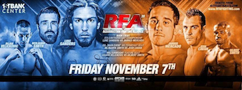 Ring of Fire - Resurrection Fighting Alliance 20 - Mixed Martial Arts - Friday Broomfield, CO - Friday, November 7th 2014 at 8:00 PM 200 tickets donated