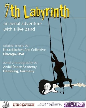 7th Labyrinth: an Aerial Adventure With a Live Band Chicago, IL - Friday, October 24th 2014 at 7:30 PM 42 tickets donated