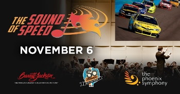 The Sound of Speed Concert and Street Festival Presented by Barrett - Jackson and Pir Phoenix, AZ - Thursday, November 6th 2014 at 5:00 PM 450 tickets donated