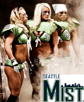 Seattle Mist vs. Minnesota Valkyrie - Legends Football League Kent, WA - Saturday, July 6th 2013 at 8:00 PM 100 tickets donated