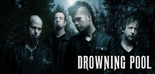 Drowning Pool - Live at Asylum Nightclub Portland, ME - Sunday, June 16th 2013 at 9:00 PM 2 tickets donated