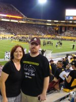 Christi attended Arizona State University vs Missouri (NCAAF) 9/09 on Sep 9th 2011 via VetTix