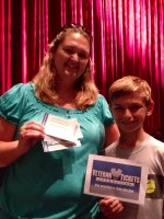 Tesone Family attended Ballet Bits and Contemporary Pieces presented by Gwinnett Ballet Theatre on Oct 5th 2013 via VetTix