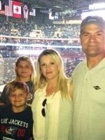 Jason attended Columbus Blue Jackets vs Calgary Flames - NHL on Oct 4th 2013 via VetTix