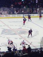 Eddy attended Columbus Blue Jackets vs Calgary Flames - NHL on Oct 4th 2013 via VetTix