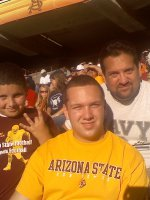 David attended Arizona State University vs UCLA (NCAA Football) 11/26 on Nov 26th 2010 via VetTix