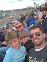 Chris attended The Profit on Cnbc 500 - Nascar Sprint Cup Series Race on Mar 2nd 2014 via VetTix