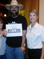 George attended ONCE - Winner of eight 2012 Tony Awards including BEST MUSICAL on Apr 29th 2014 via VetTix
