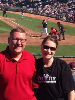 Justin attended Los Angeles Angels vs. Seattle Mariners - MLB Spring Training on Mar 11th 2014 via VetTix