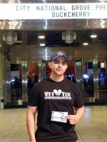 Joseph attended Buckcherry at City National Grove of Anaheim on Mar 12th 2014 via VetTix