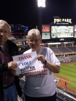 Ken attended Pittsburgh Pirates vs. Cincinnati Reds - MLB on Apr 21st 2014 via VetTix