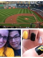 Yi-Yu attended Pittsburgh Pirates vs. Cincinnati Reds - MLB on Apr 21st 2014 via VetTix