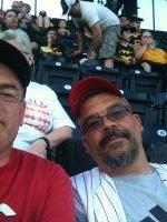 Daniel attended Pittsburgh Pirates vs. Cincinnati Reds - MLB on Apr 21st 2014 via VetTix