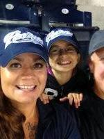 Sylvia attended San Diego Padres vs. Colorado Rockies - MLB on Apr 16th 2014 via VetTix
