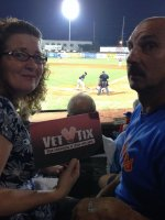 Kristina attended Evansville Otters vs. Southern Illinois Miners - MILB on Jul 19th 2014 via VetTix