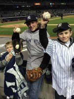 Billy attended New York Yankees vs. Chicago Cubs - MLB on Apr 16th 2014 via VetTix