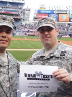 Edison attended New York Yankees vs. Chicago Cubs - MLB on Apr 16th 2014 via VetTix