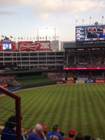Gabriel attended Texas Rangers vs Oakland Athletics - MLB on Apr 28th 2014 via VetTix