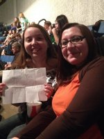 Thomas attended Hunter Hayes - We ' Re Not Invisible Tour on Apr 17th 2014 via VetTix