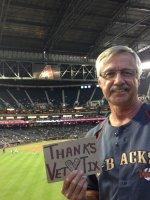 Ken attended Arizona Diamondbacks vs Colorado Rockies - MLB on Apr 29th 2014 via VetTix