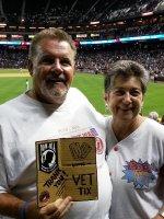 DJ attended Arizona Diamondbacks vs Colorado Rockies - MLB on Apr 29th 2014 via VetTix