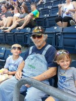 Stephen attended Kansas City Royals vs. Cleveland Indians - MLB on Jul 25th 2014 via VetTix