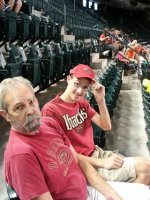 Roger attended Arizona Diamondbacks vs. Detroit Tigers - MLB on Jul 22nd 2014 via VetTix