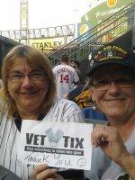 Pamela attended Chicago White Sox vs. Baltimore Orioles - MLB - Wednesday on Aug 20th 2014 via VetTix