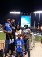George attended Kansas City Royals vs. Cleveland Indians - MLB on Aug 30th 2014 via VetTix