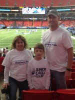 Erik attended Georgia State Panthers vs Georgia Southern Eagles - NCAA Football on Oct 25th 2014 via VetTix