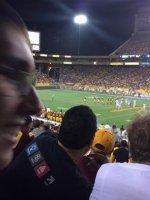 david attended Arizona State University Sun Devils vs. Weber State Wildcats - NCAA Football on Aug 28th 2014 via VetTix