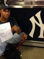 Aladino attended New York Yankees vs. Houston Astros - MLB on Aug 20th 2014 via VetTix