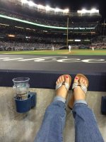 Thomas attended New York Yankees vs. Houston Astros - MLB on Aug 20th 2014 via VetTix