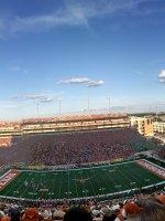 Bradley attended Texas Longhorns vs. North Texas - NCAA Football on Aug 30th 2014 via VetTix