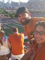 Jason attended Texas Longhorns vs. North Texas - NCAA Football on Aug 30th 2014 via VetTix