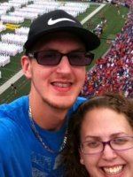 Joseph attended Navy Midshipmen vs. Ohio State Buckeyes - NCAA Football on Aug 30th 2014 via VetTix